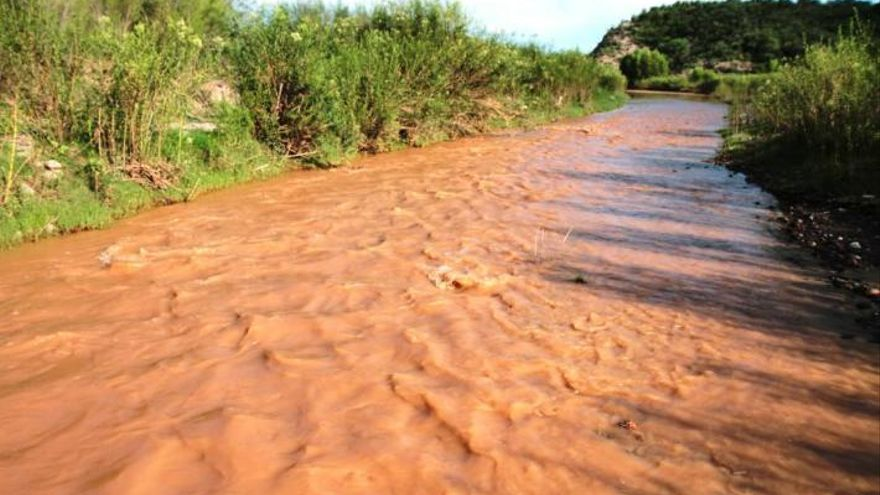 El río Sonora, contaminado tras el vertido de Grupo México