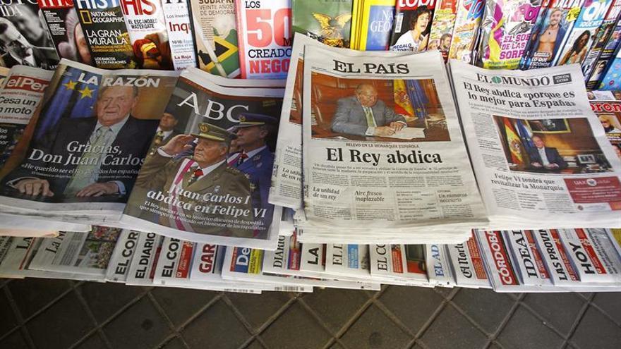 Los ingresos de la prensa continuarán en descenso pero de forma más moderada