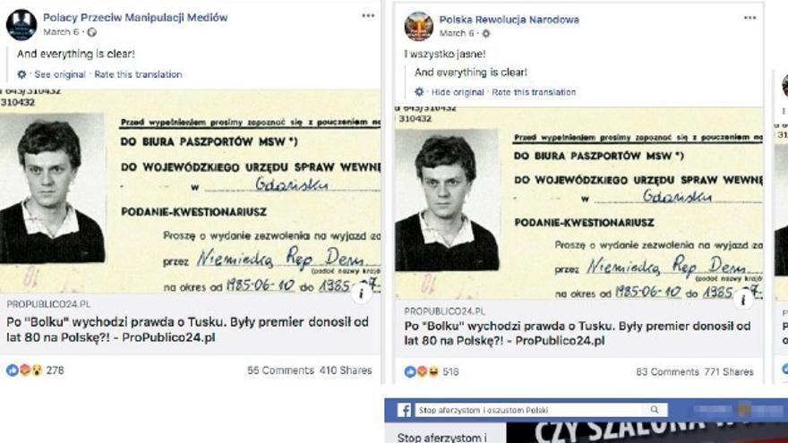 El falso Donald Tusk de la Stasi