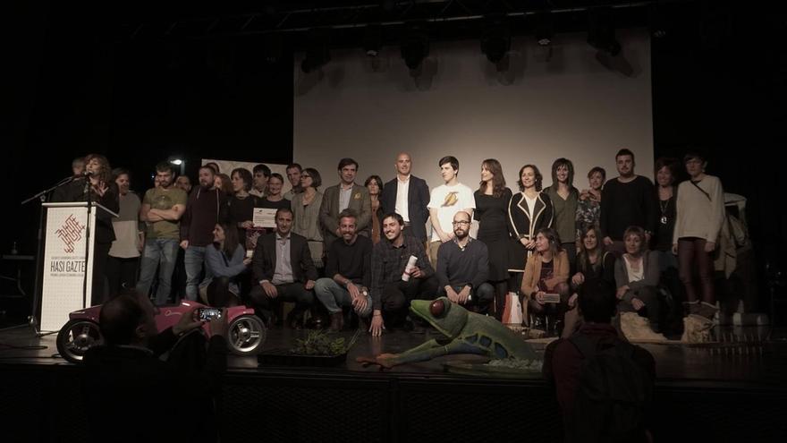 Eutsi y Taupadak, ganadoras de los premios Hasi Gazte