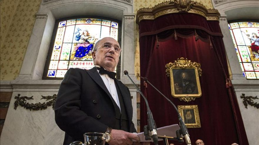 Muñoz Machado ingresa en la RAE con una defensa de la libertad de expresión