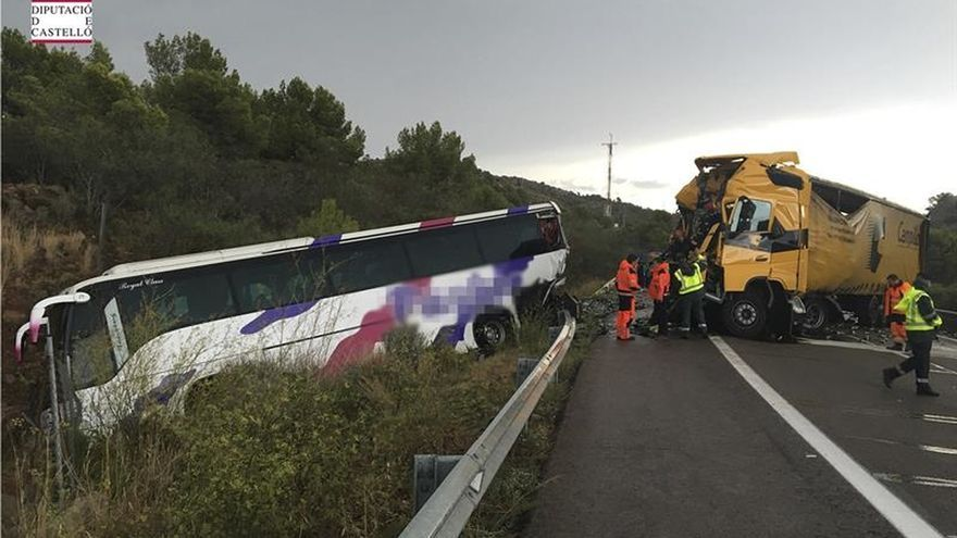 Fallece uno de los dos heridos graves del accidente de Benicàssim