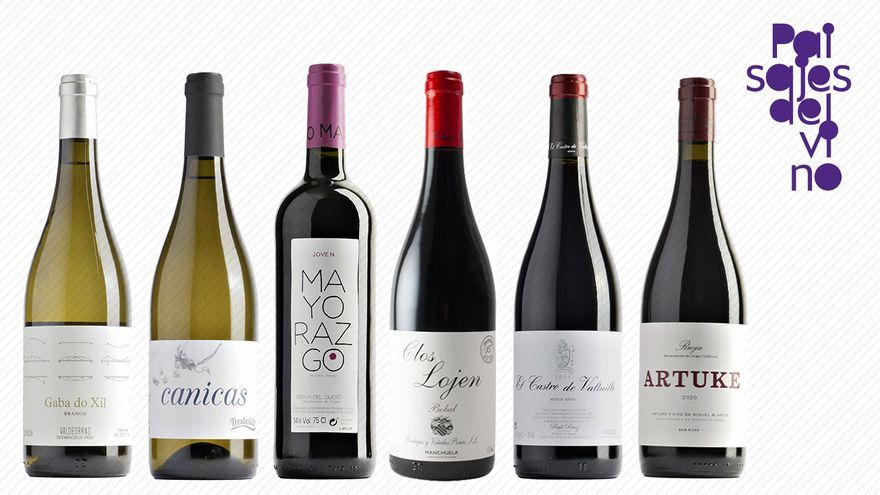 Primera edición de la caja de vinos 'VinoDiario' del proyecto 'Paisajes del vino'