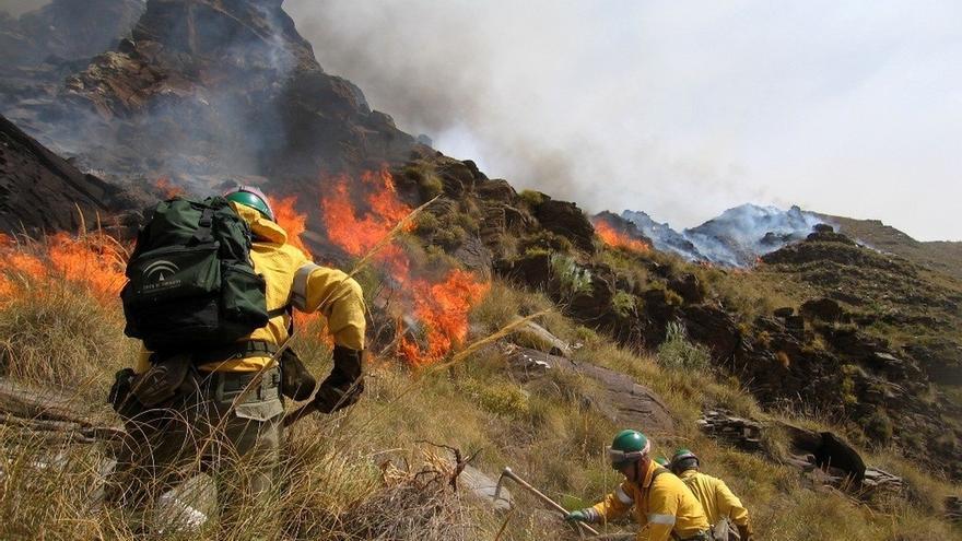 La Guardia Civil ha investigado casi 400 incendios forestales en Andalucía en 2017, con seis detenidos y 24 imputados