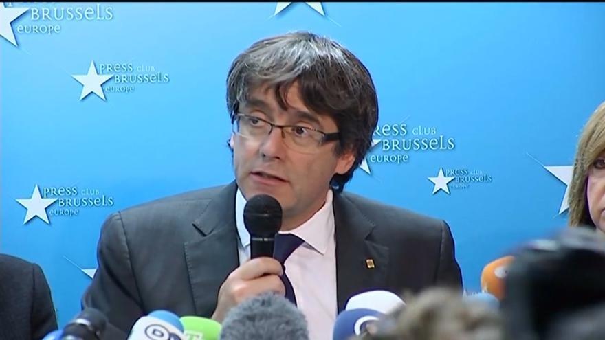 Puigdemont preveía crear 14 estructuras de Estado como Defensa o un Banco Central y controlar nucleares y aeropuertos
