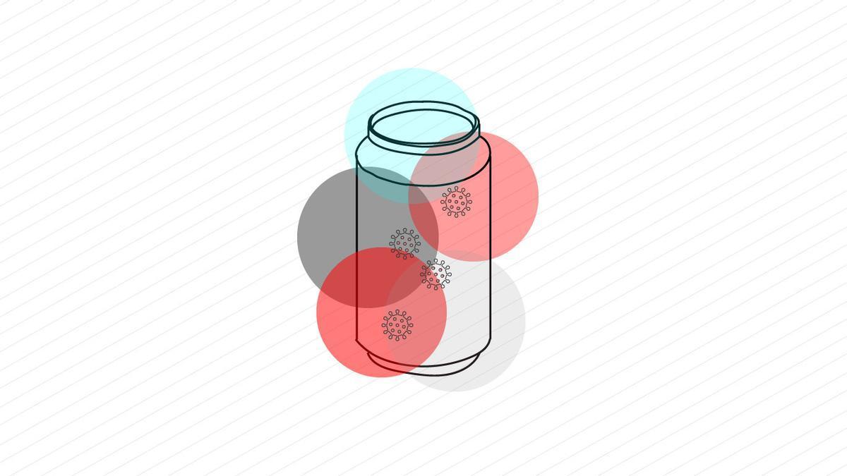 Todos los coronavirus del mundo cabrían en una lata de refresco (y sobraría espacio)