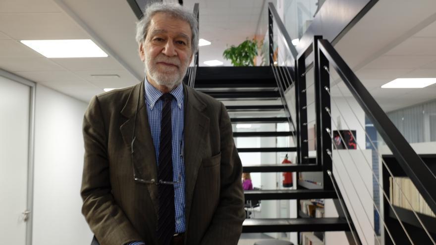 El escritor Luigi Zoja. FOTO: I.A