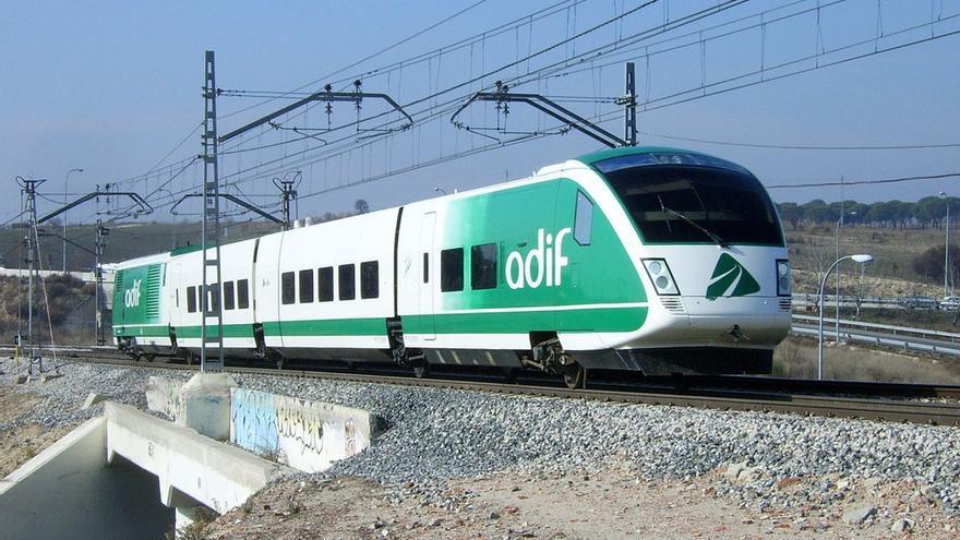 Tren auscultador o 'tren laboratorio' que realizará las pruebas