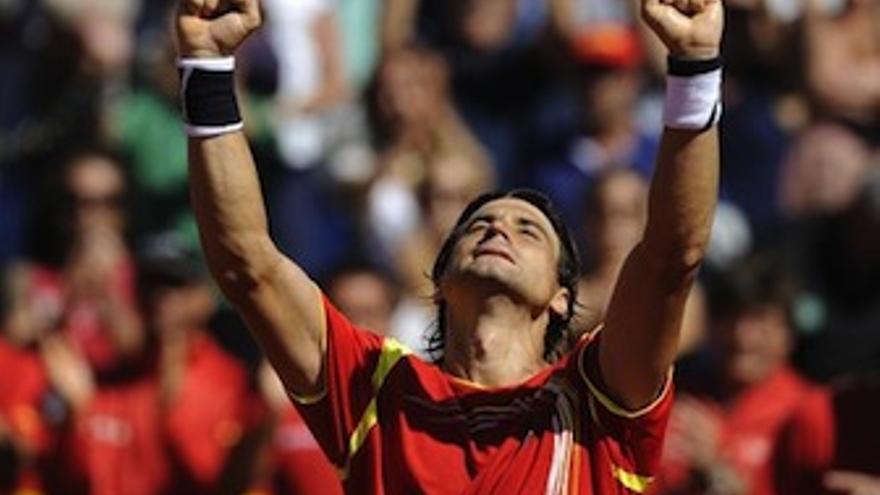 Ferrer consigue su décimosexta victoria consecutiva en eliminatorias de Copa Davis. (EP)