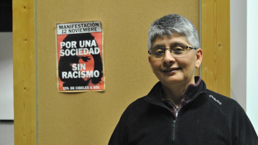 Quimy/Leticia Rojas, activista de Migrantes Transgresorxs.