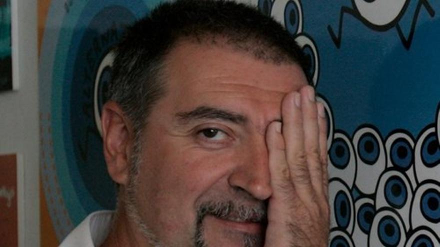 El director del Festival de Cine de Pamplona, Dimas Lasterra.