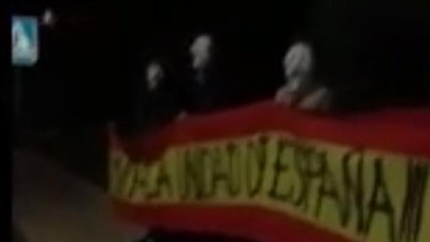Pantallazo de la acción de acoso contra la vicepresidenta valenciana, Mónica Oltra.