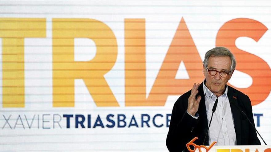 "Trias (CiU) acusa a Iglesias y a Colau de ""insultar, crispar y generar odio"""