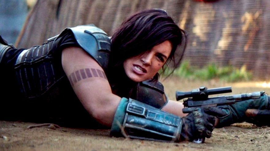 Gina Carano como Cara Dune en 'The Mandalorian'