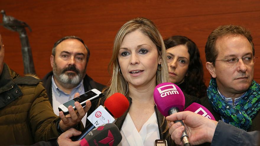 Elena de la Cruz, consejera de Fomento de Castilla-la Mancha