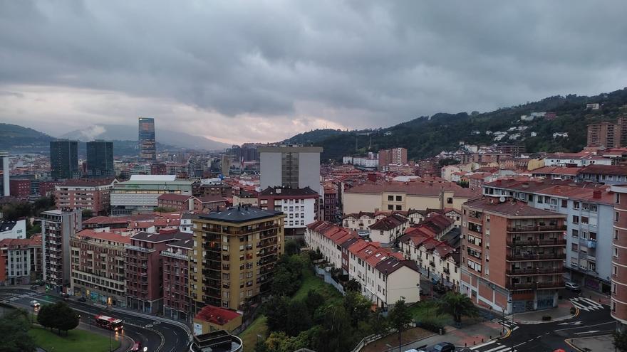 Cielos nublados en Euskadi (archivo).