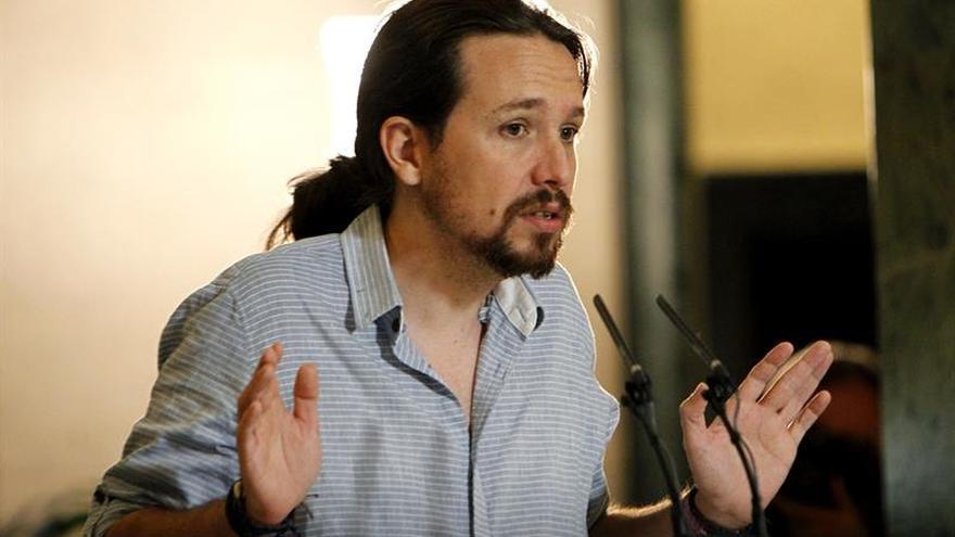 Iglesias se postula como jefe de la oposición si PSOE deja gobernar a Rajoy