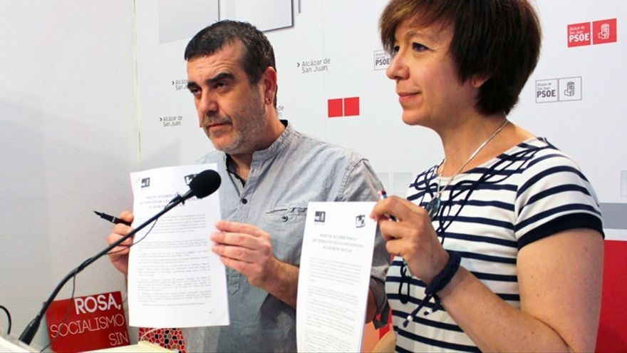 Antonio Jesús García y Rosa Melchor / Foto: rosamelchor2015.es