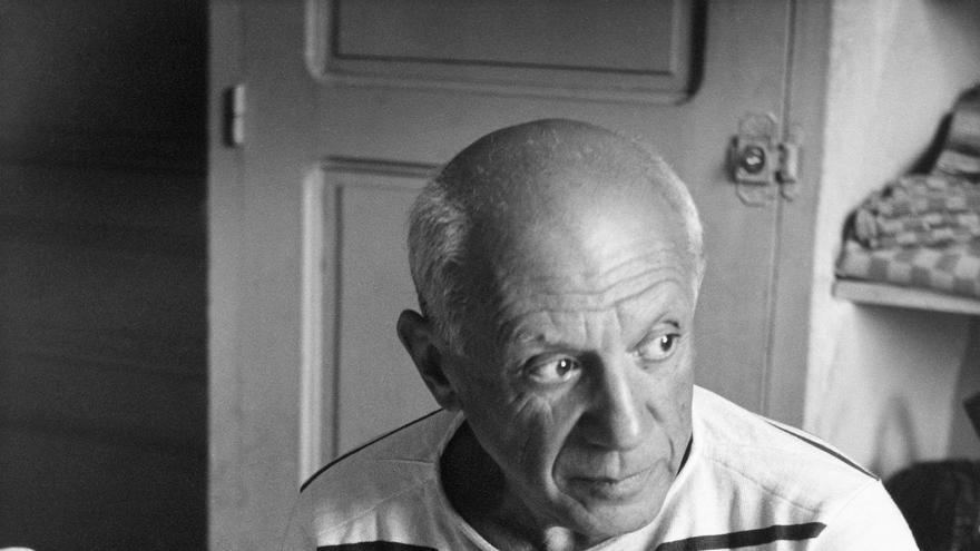 Los panes de Picasso, Vallauris 1952 © Robert Doisneau / GAMMA-RAPHO