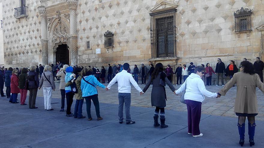Iniciativa 'Abraza el Infantado', Guadalajara / Foto: Nando Rivero-La Calle Guadalajara