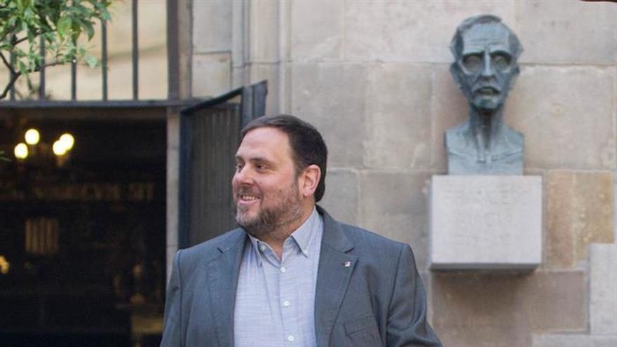 """Oriol Junqueras, sobre el pacto entre PSOE y Ciudadanos: """"Ninguna sorpresa"""""""
