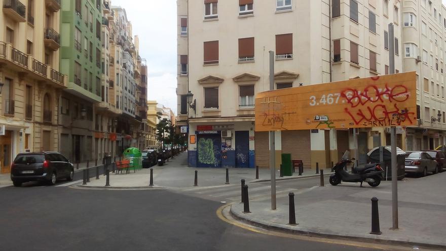 Barrio de Russafa (Valencia).