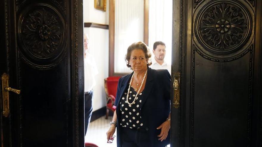 Rita Barberá anunciará hoy su renuncia al acta de concejal en Valencia