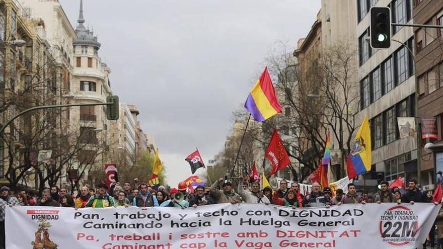 Las marchas de la dignidad tomarán las calles contra el recorte de derechos en UE