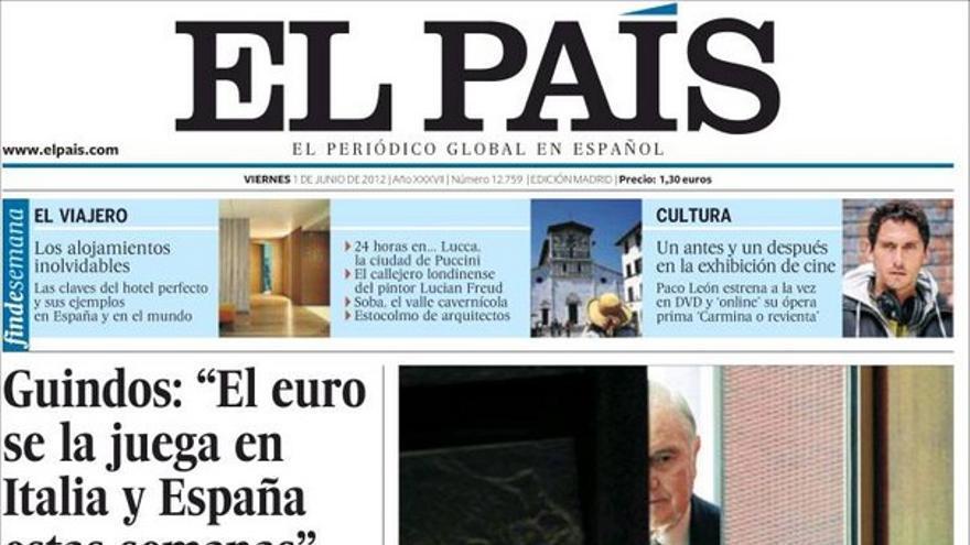 De las portadas del día (01/06/2012) #8