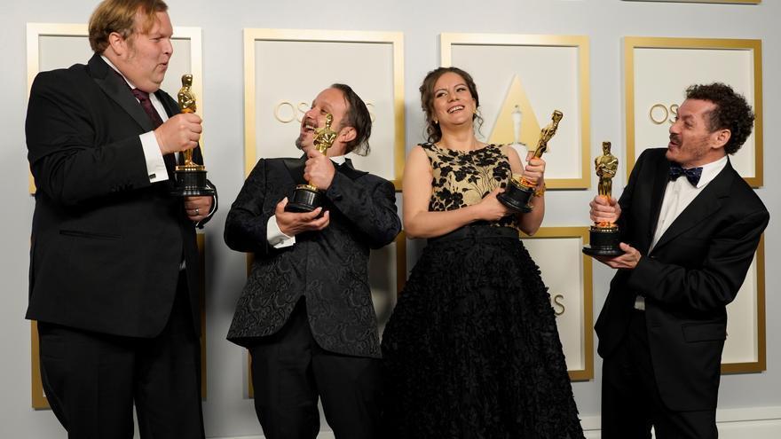 Personalidades y usuarios de redes felicitan a mexicanos ganadores del Óscar