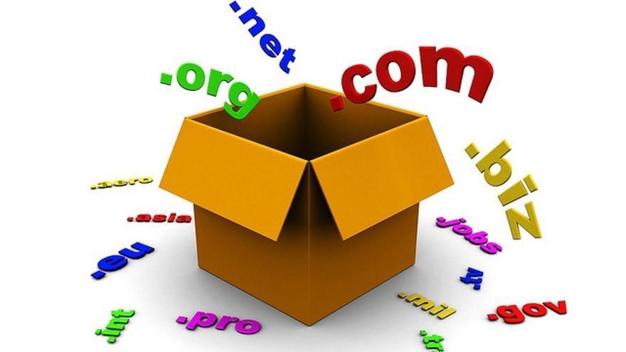 Los nuevos dominios están pensados para servir a una clasificación temática
