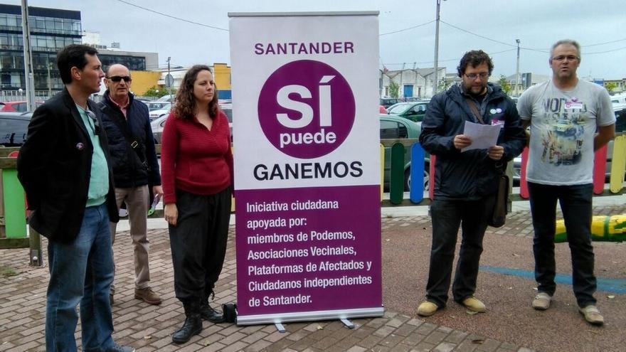 """Mantecón (Ganemos Santander) denuncia """"falta de equipamientos"""" y """"especulación"""" en Castilla-Hermida"""