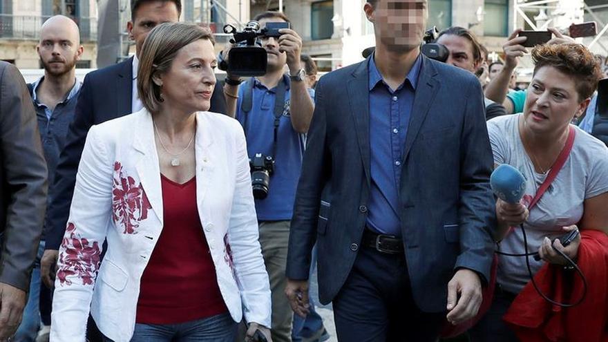 """Forcadell acusa al Estado de """"enterrar"""" la política y abrirse a la """"represión"""""""