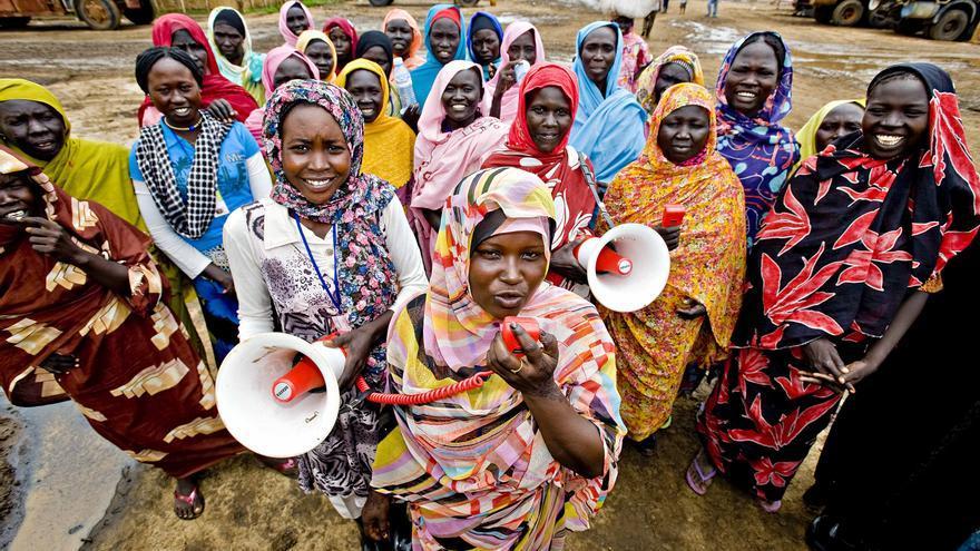 Una campaña de sensibilización / Foto: Oxfam Intermón.