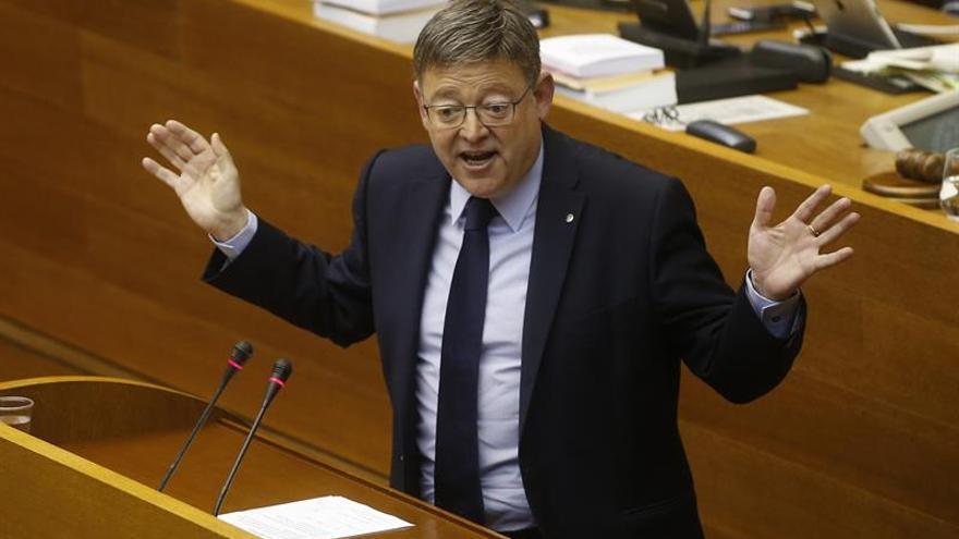 Puig dice que es fundamental, más para los valencianos, que haya un giro a la izquierda