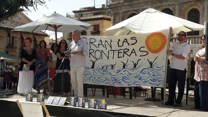 Presentación del libro colectivo 'Refugiamos', en el Festival Voix Vives