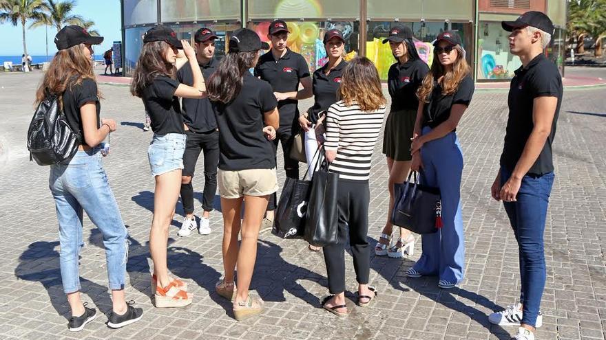 Modelos que participarán en los desfiles de Gran Canaria Moda Cálida. (ALEJANDRO RAMOS)