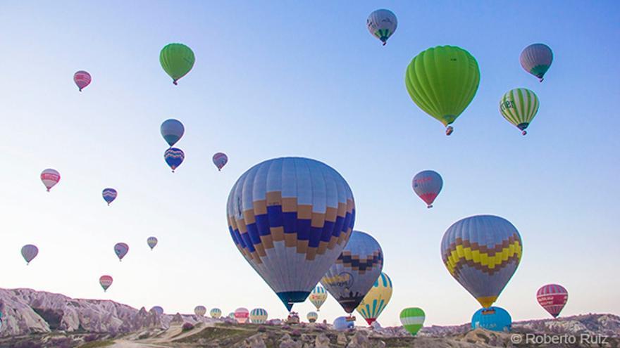 Viajes en globo, Capadocia, Turquía