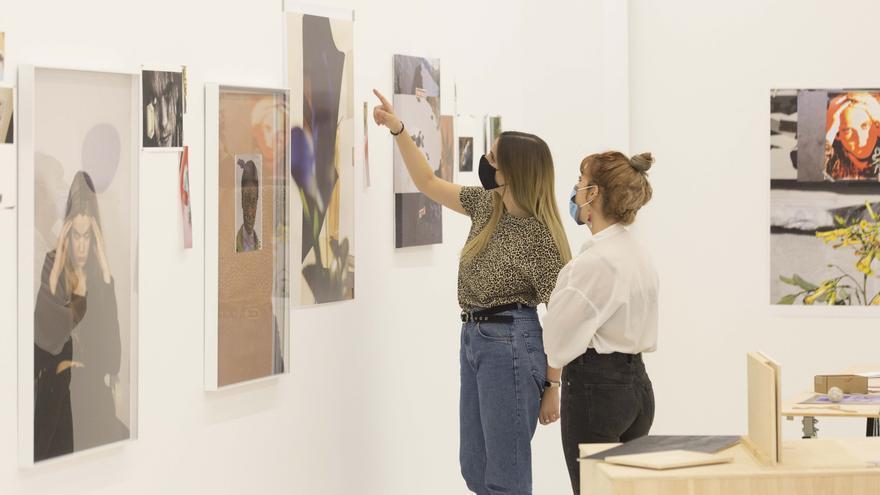 Una imagen de la galería Punto, en la pasada edición de Abierto València. / Débora Barriga