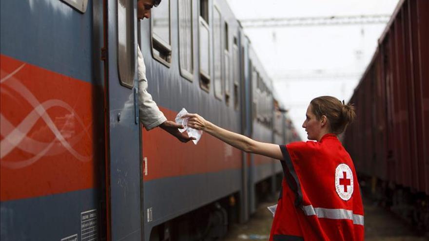 Croacia recibe en un día a 8.750 refugiados que van hacia Europa Occidental
