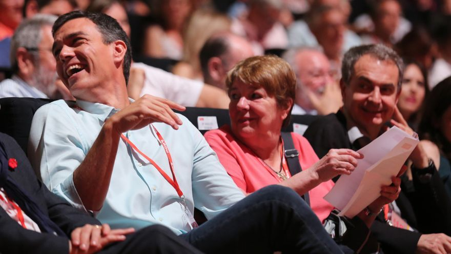 Pedro Sánchez en el congreso federal del PSOE
