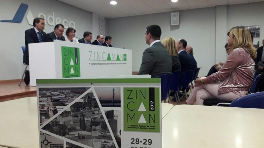 Presentación de ZINCAMAN, este lunes en Albacete.