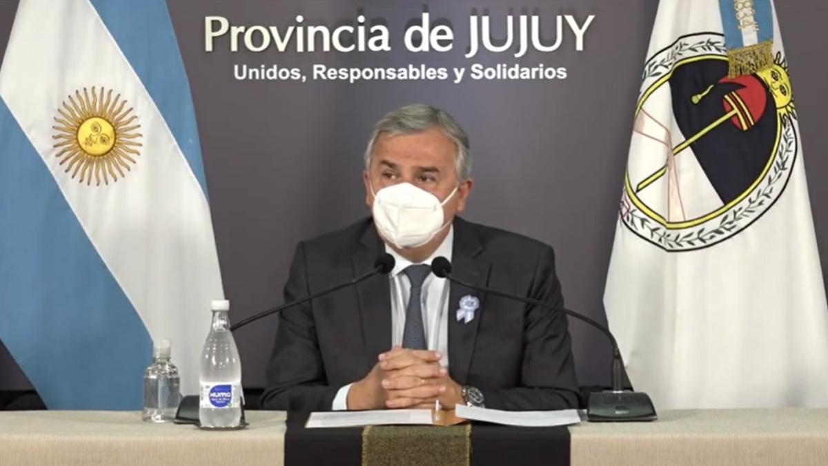 El gobernador de Jujuy, Gerardo Morales, negocia con Sinopharm la llegada de un millón de vacunas.