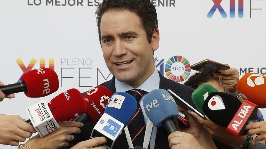 """Egea sobre el cierre de cuentas en internet: """"El PP siempre da la cara"""""""