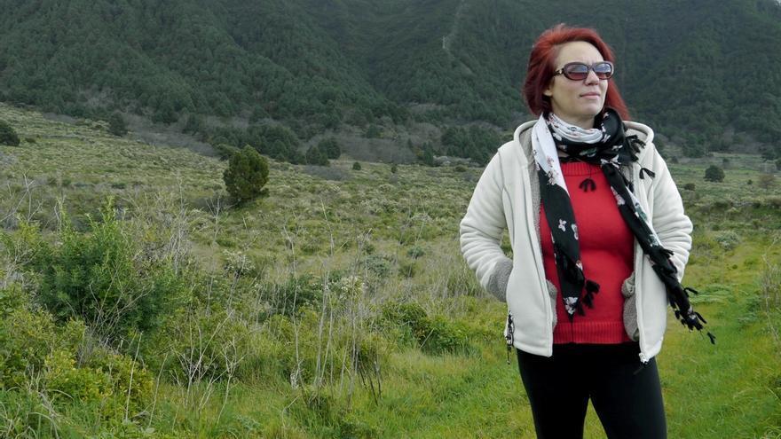 La cineasta palmera Mercedes Afonso.