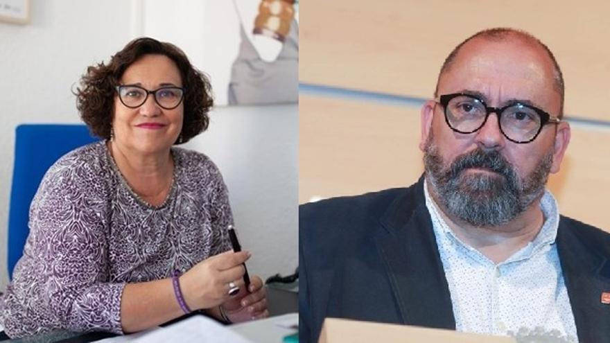 Ali Brancal y Enric Nomdedéu