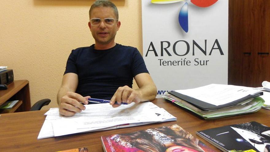 David Pérez, concejal de Turismo en Arona