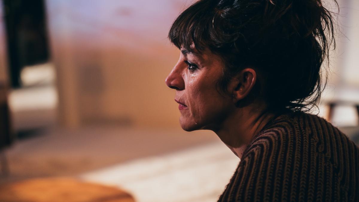 Sandra Ferrús interpretando a Concha