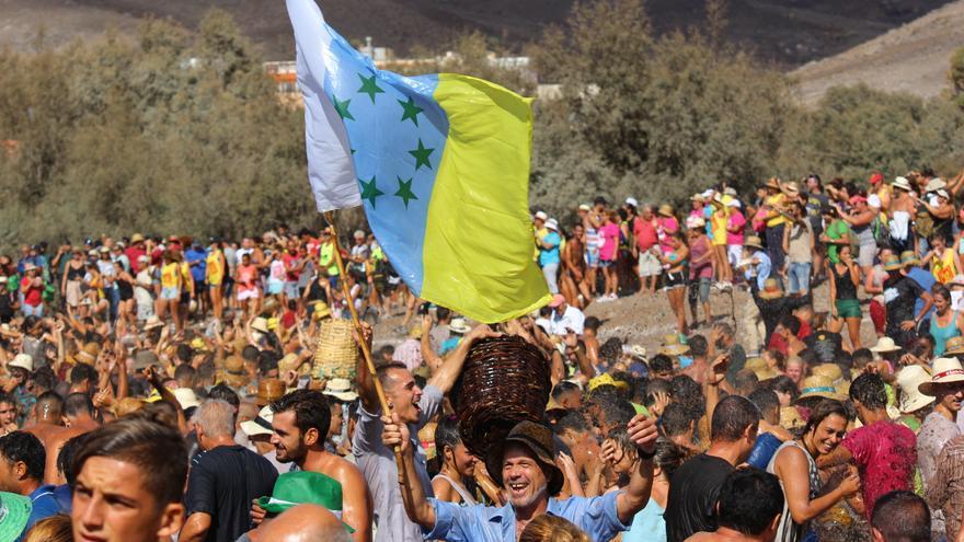 Fiesta del Charco en La Aldea. (CIRENIA VICO)