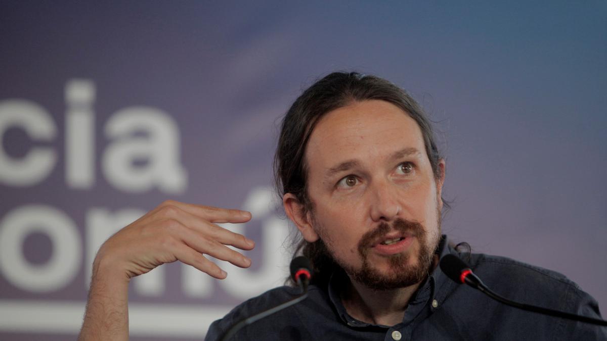 El secretario general de Podemos y vicepresidente del Gobierno, Pablo Iglesias. EFE/ Cabalar/Archivo